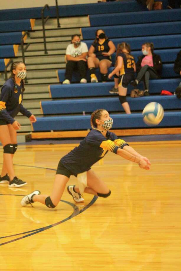 Monique Rowland was among the Baldwin volleyball players to make first-team West Michigan D League all-conference honors. (Star file photo)