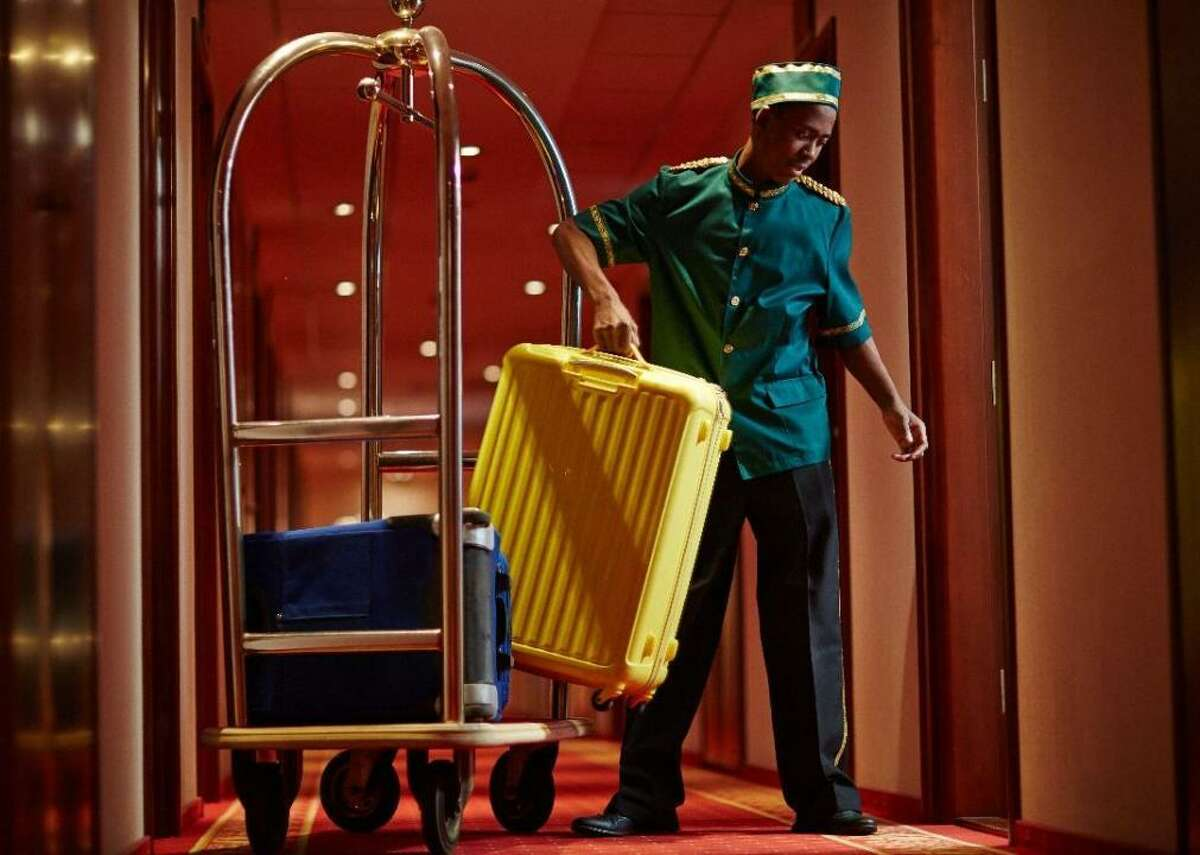 #50. Baggage Porters and Bellhops Detroit-Warren-Dearborn, MI - Annual mean salary: $29,110 - Employment: 240 National - Annual mean salary: $28,230 - Employment: 39,790