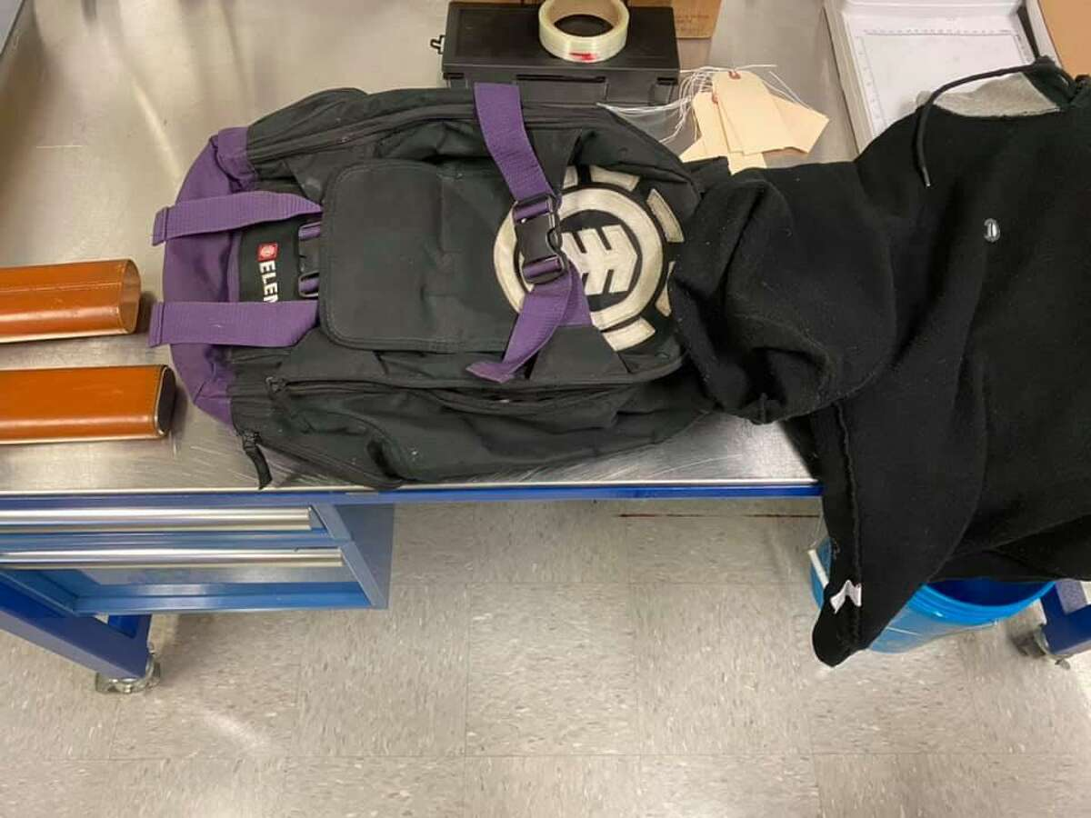 These items were found near a vehicle that was entered in Plymouth, Conn., on Wednesday, Dec. 2, 2020.