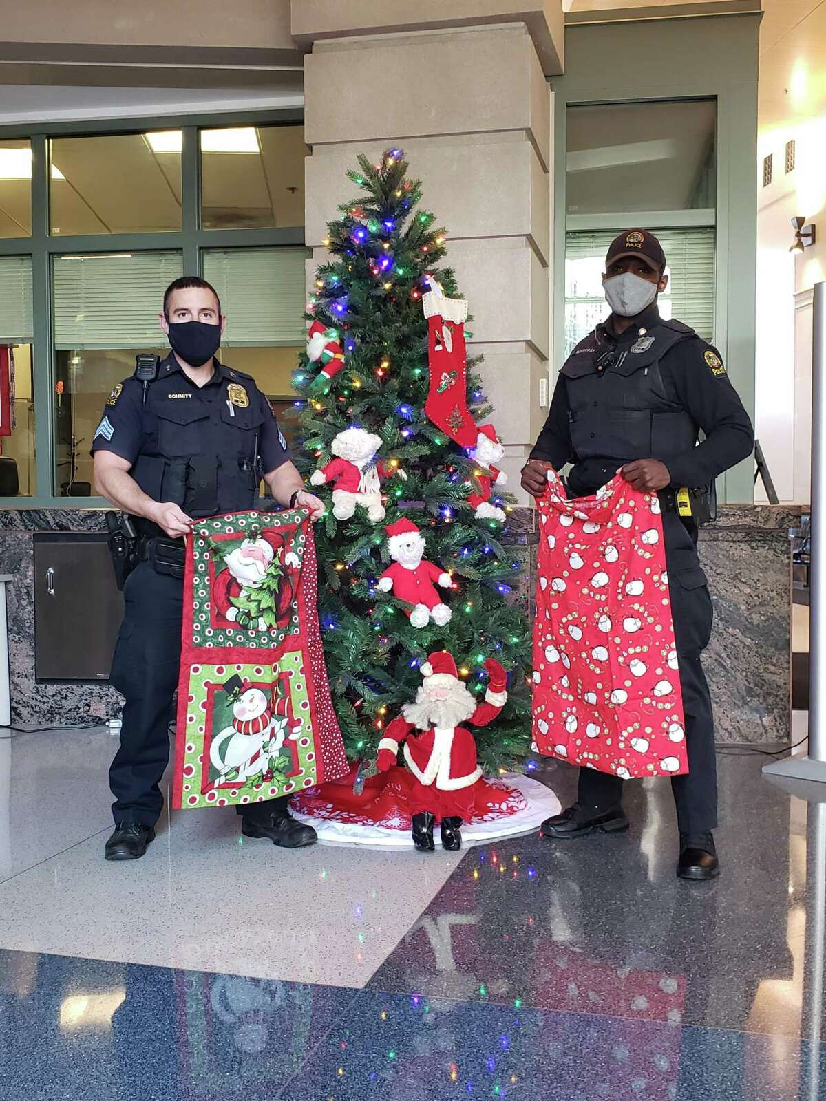 Greenwich police are assisting with a toy drive this weekend.
