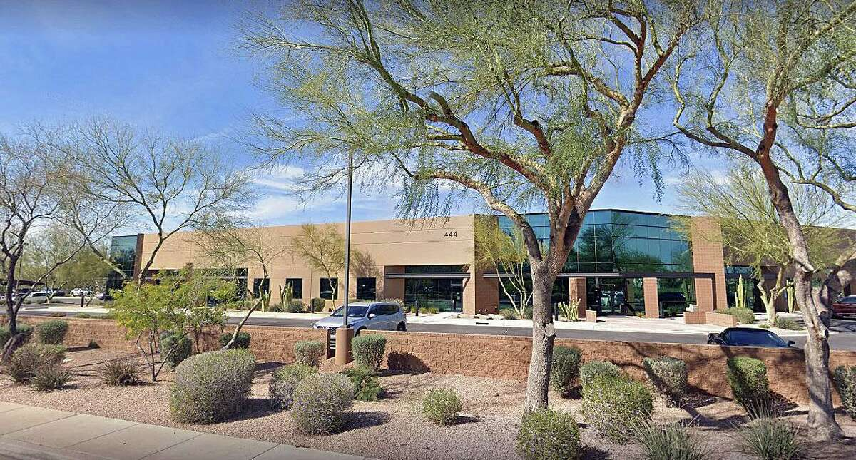 The former headquarters of Insys Therapeutics in Arizona. The company is now permanently closed after a drug kickback scheme.