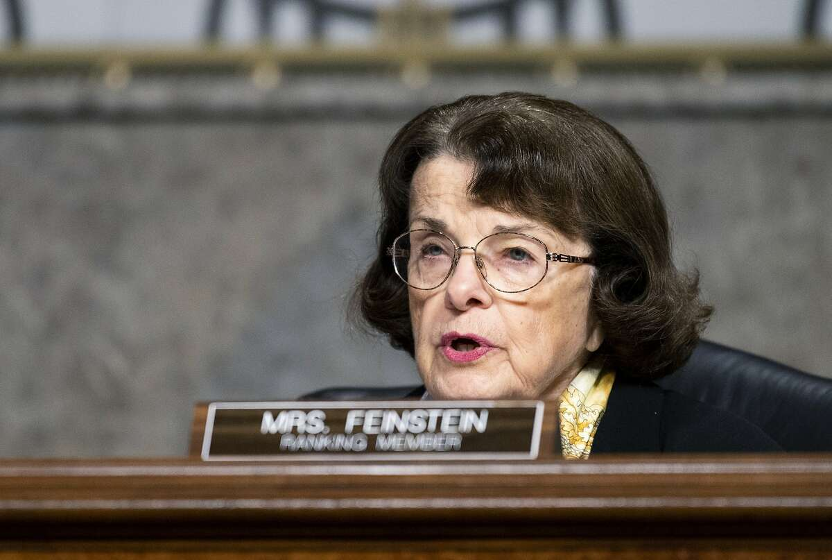 Sen. Dianne Feinstein, D-Calif., during a Senate Judiciary Committee hearing Tuesday, Nov. 17, 2020, on Capitol Hill in Washington.