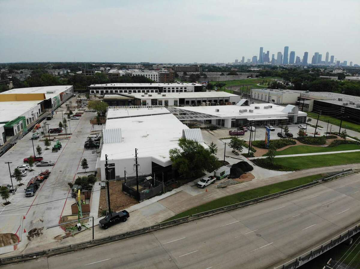 M-K-T, a redevelopment of industrial buildings at 600 N. Shepherd Drive in the Heights, is home to office and retail tenants. M-K-T is a joint venture of Triten Real Estate Partners, Radom Capital and Long Wharf Capital.