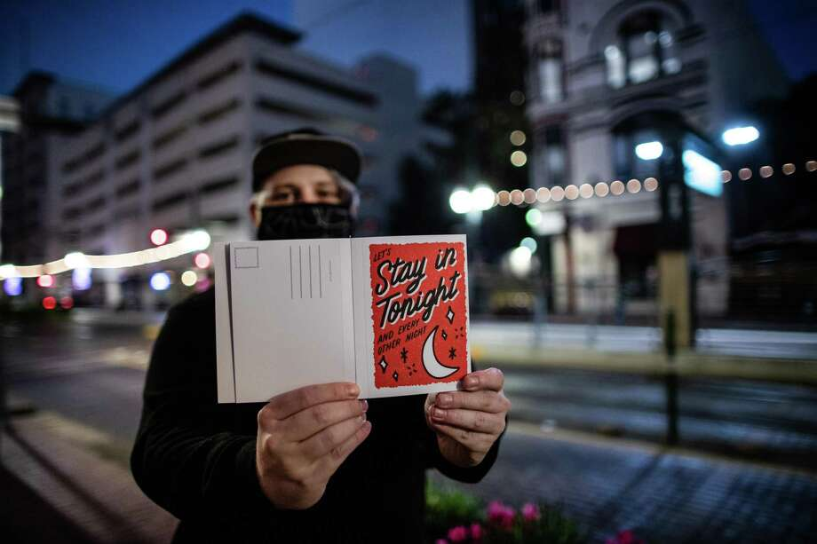 Josh Ryan, 33, published his second book of love notes for introverts titled Say Nothing at All during the COVID-19 pandemic, which really took on a whole new meaning given we're all indoors now. Photo: Marie D. De Jesús, Staff Photographer / © 2020 Houston Chronicle