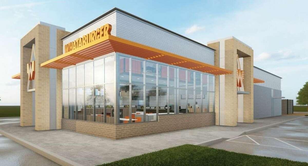 New Whataburger restaurant design.