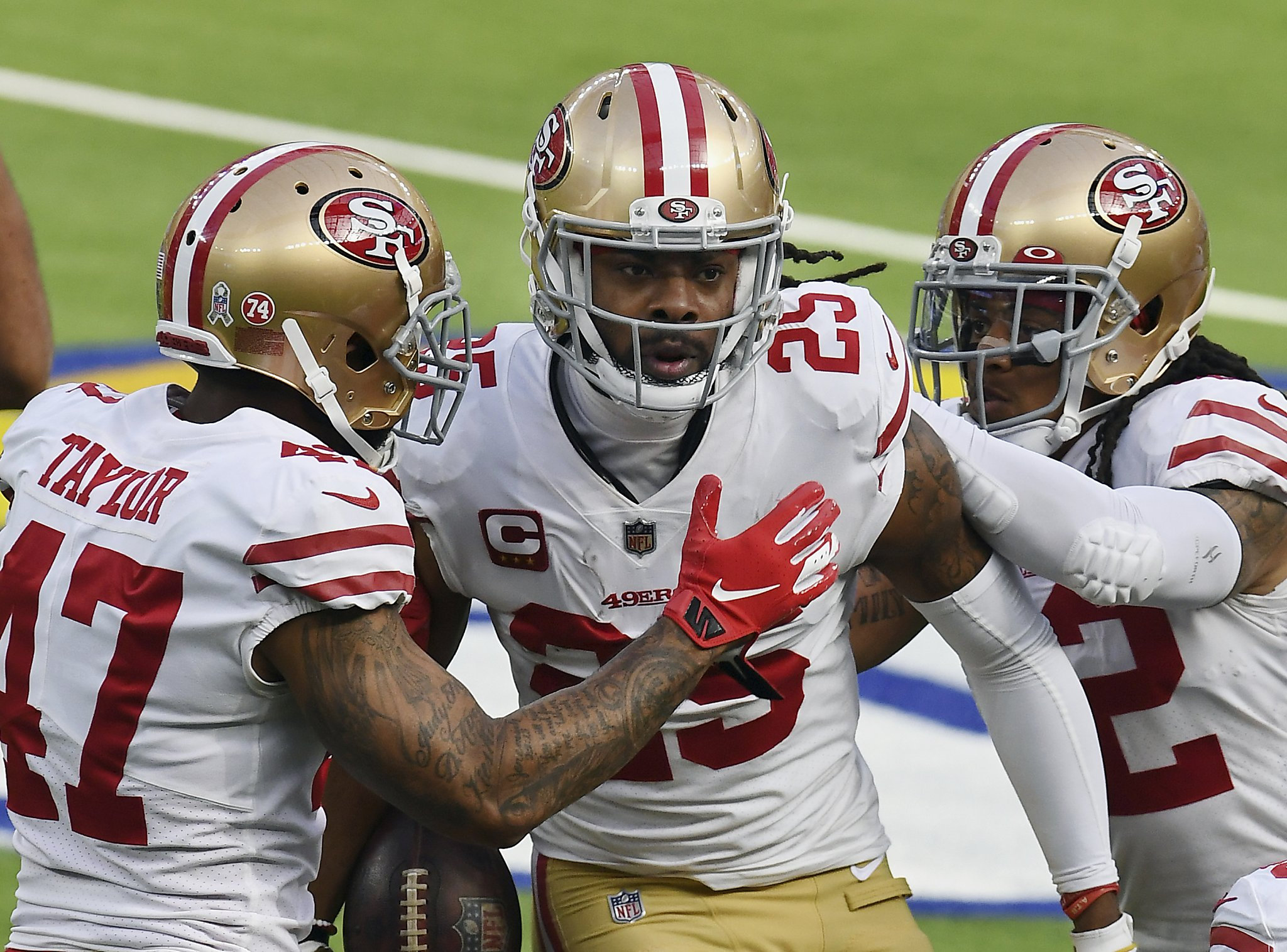 After long absence, 49ers' Richard Sherman says he's overcome his calf issues