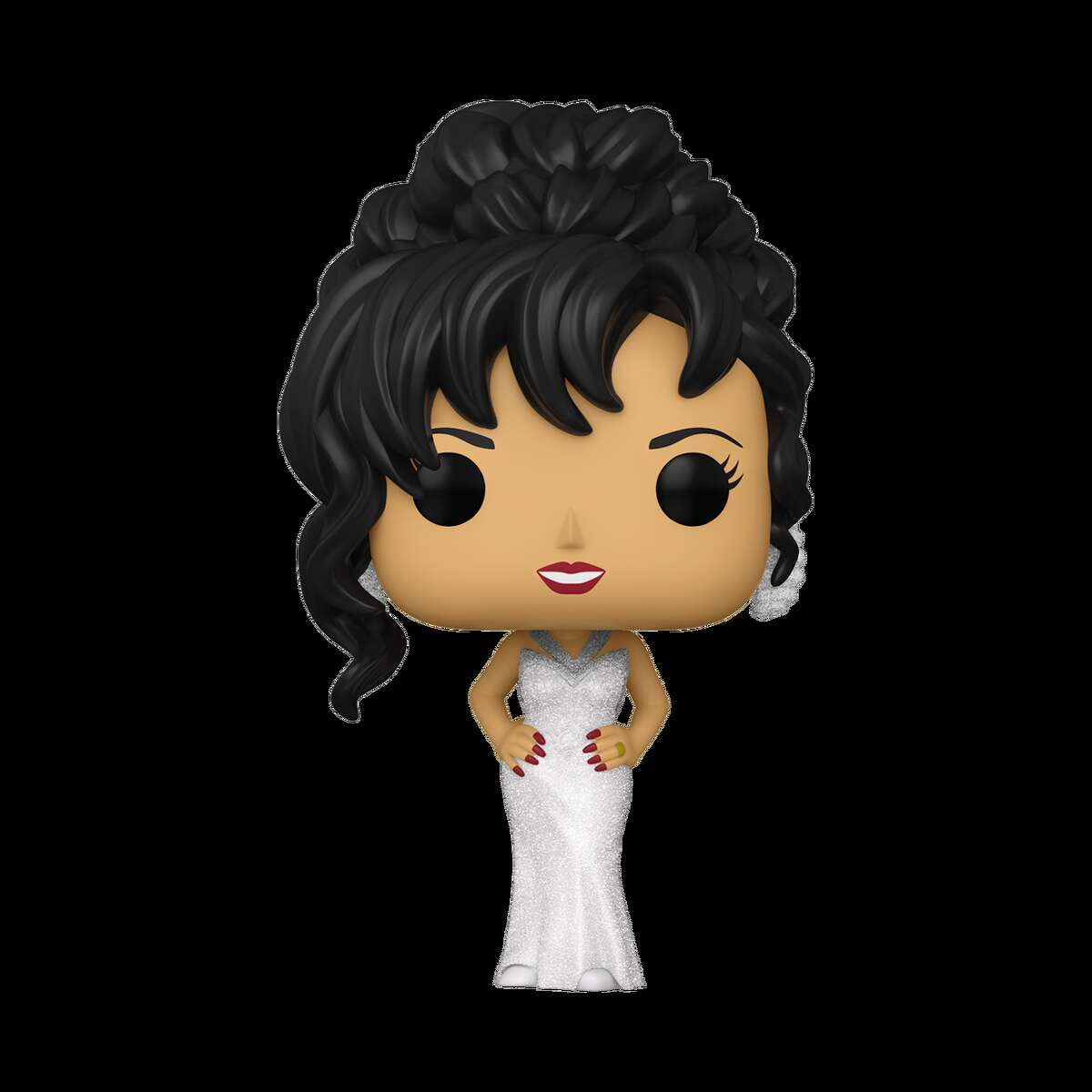 A version of Selena wearing the white dress she wore at the 36th Annual Grammy Awards held in New York in 1994 will be available at a later time, Funko said in the release.
