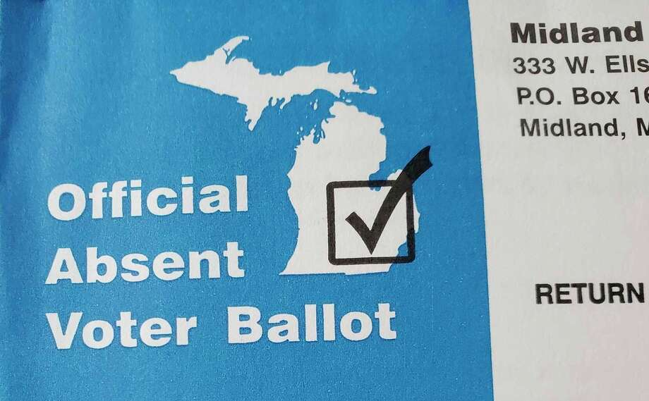 City of Midland absentee election ballot. (Daily News file photo)