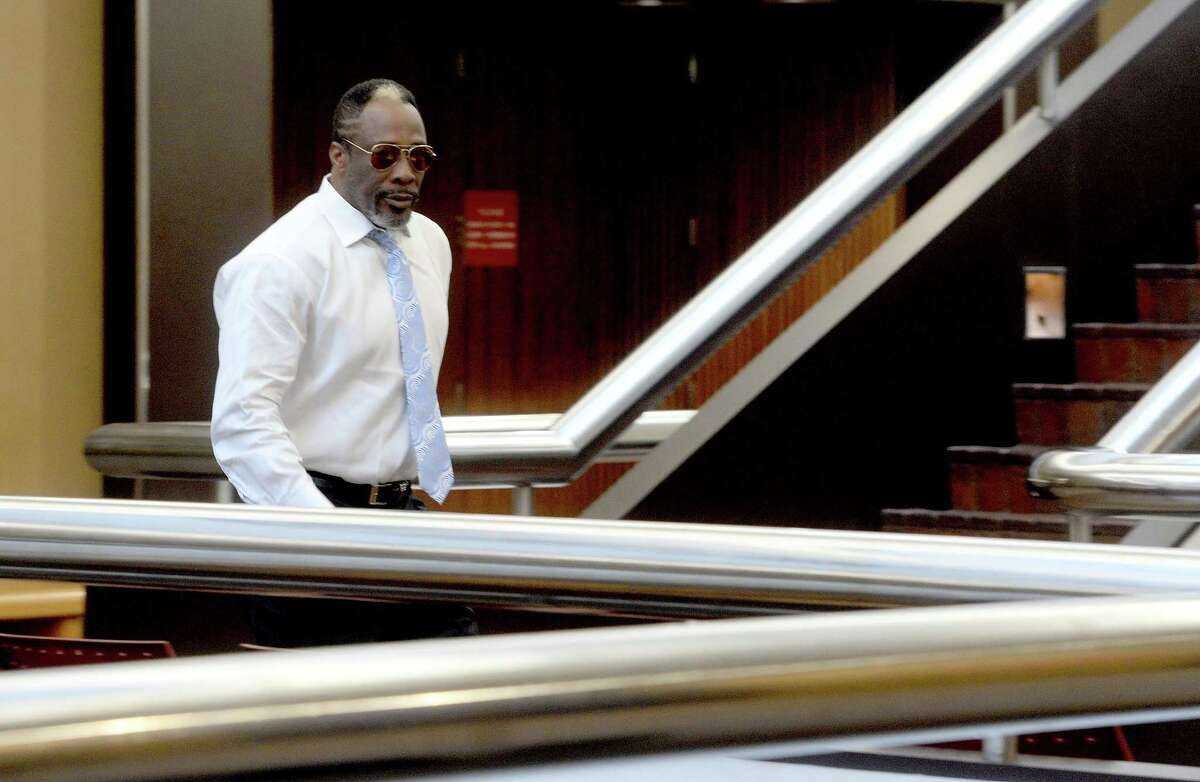Calvin Walker, pictured here in Jan. 2020, was ordered to pay legal fees to BISD over a failed lawsuit. The money will go to TASB, who defended BISD. Walker was found guilty of overcharging BISD for electrical work in 2009. Photo taken Wednesday, January 8, 2020 Kim Brent/The Enterprise