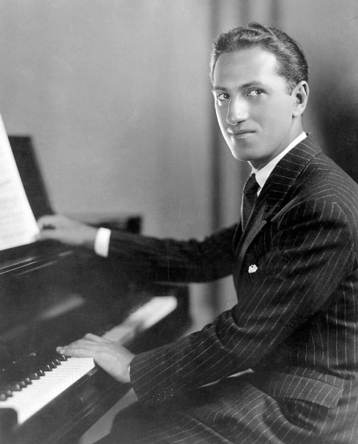 GERSHWIN PROGRAM: Fairfield University's Quick Center for the Arts will present pianist Orin Grossman, PhD, performing a tribute to one of the most influential composers in American history, George Gershwin (above) on Tuesday, Dec. 8, at 5 p.m. Fairfield faculty member Grossman has performed and lectured around the world. The event will take place in virtual format. Tickets are $20 and available at quickcenter.com.