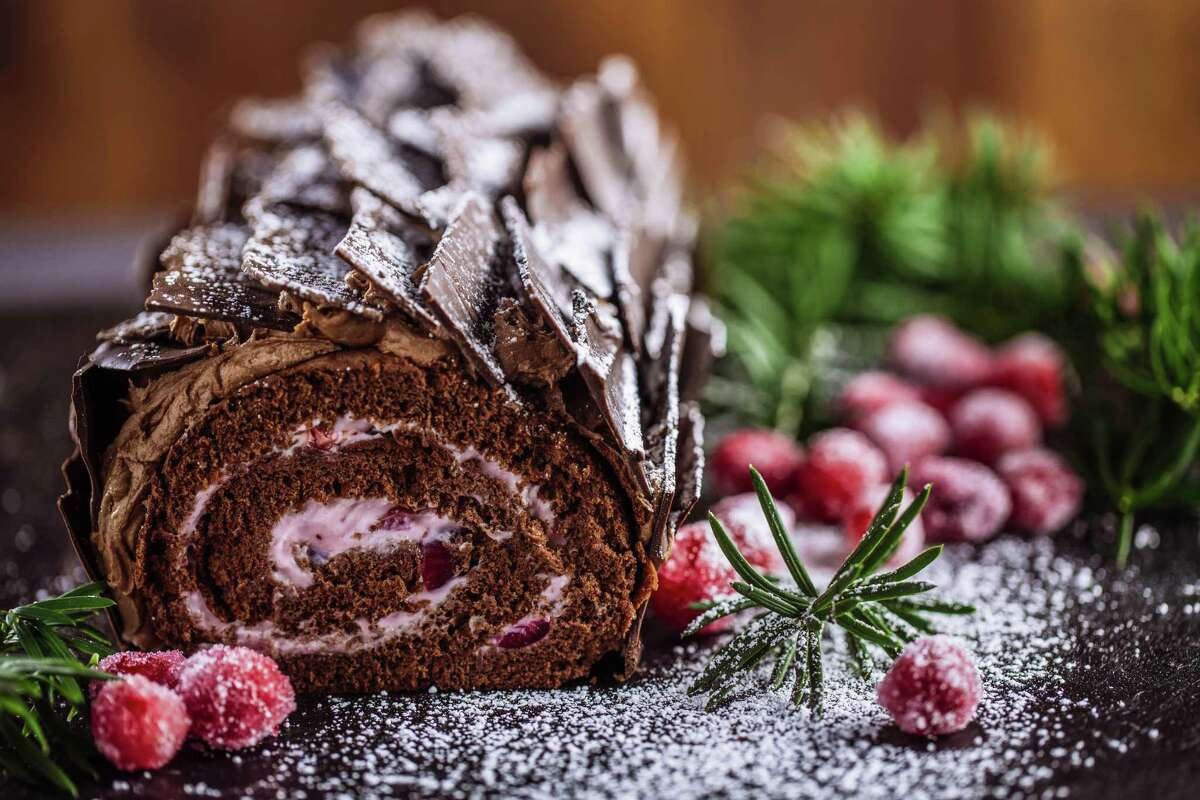 Yule logs also known as bûche de noël are a traditional European holiday dessert. Like Herb Mueller of the Black Forest Bakery on Lewis Street. Scion of the German couple who founded the bakery in 1982, Mueller said he bakes