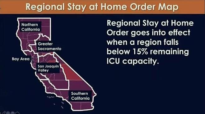 How California S New Stay At Home Order Affects Your Region Sfchronicle Com