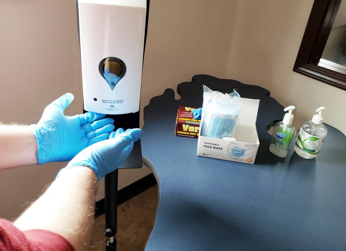 Since March, responders like those at the Manistee County Sheriff's Office and jail have been constantly working to stay ahead of the needs for things such as gloves, masks and sanitizer through challenges such as limits on purchases and pricing increases during the ongoing COVID-19 pandemic.