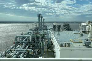The Houston Chronicle got a peek aboard life on the Methane Lydon Volney. The Bermuda-flagged liquefied natural gas tanker was docked at Cheniere Energy's Sabine Pass LNG export terminal on Tuesday, January 28, 2020.