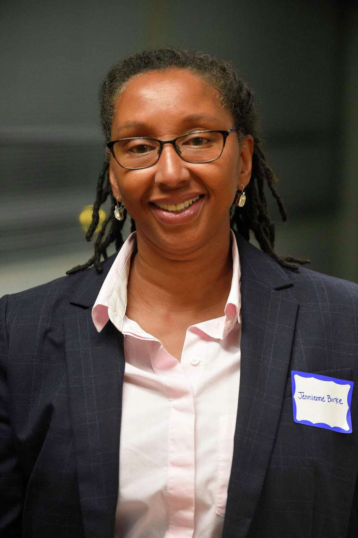 Jennienne Burke was voted president of the Stamford Board of Education on Tuesday, Dec. 1, 2020.