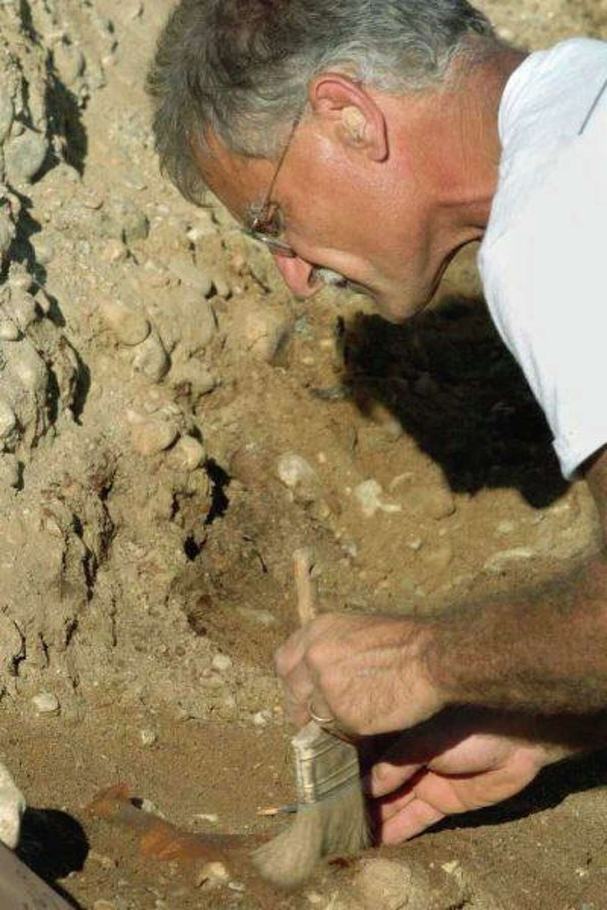 Pictured is Nick Bellantoni, a former Connecticut state archaeologist. Here is a list of upcoming events taking place in the future in Ridgefield, including a study by Bellantoni, virtual carols by candlelight, and an open house.