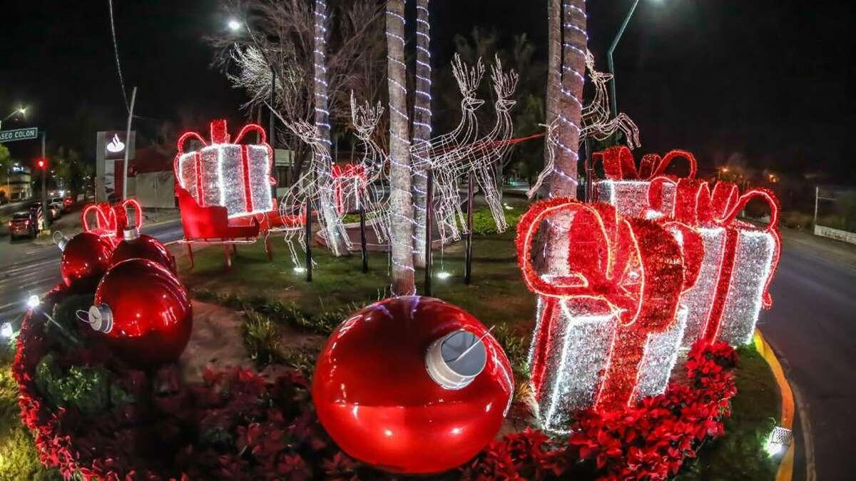 Servicios Públicos Primarios concluye instalación de adornos de la temporada decembrina en todos los rumbos de la ciudad