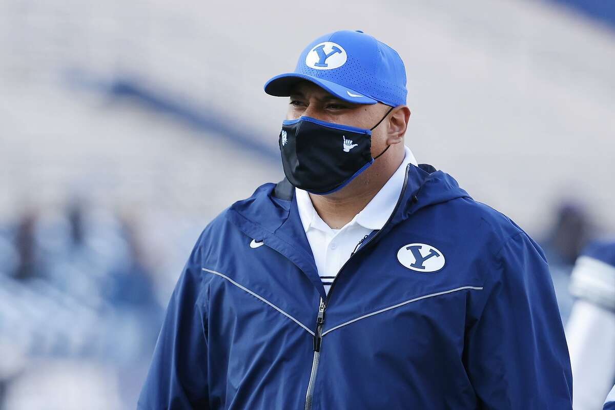 Head coach Kalani Sitake and eighth-ranked BYU were prepared to go even before they had an opponent to play.