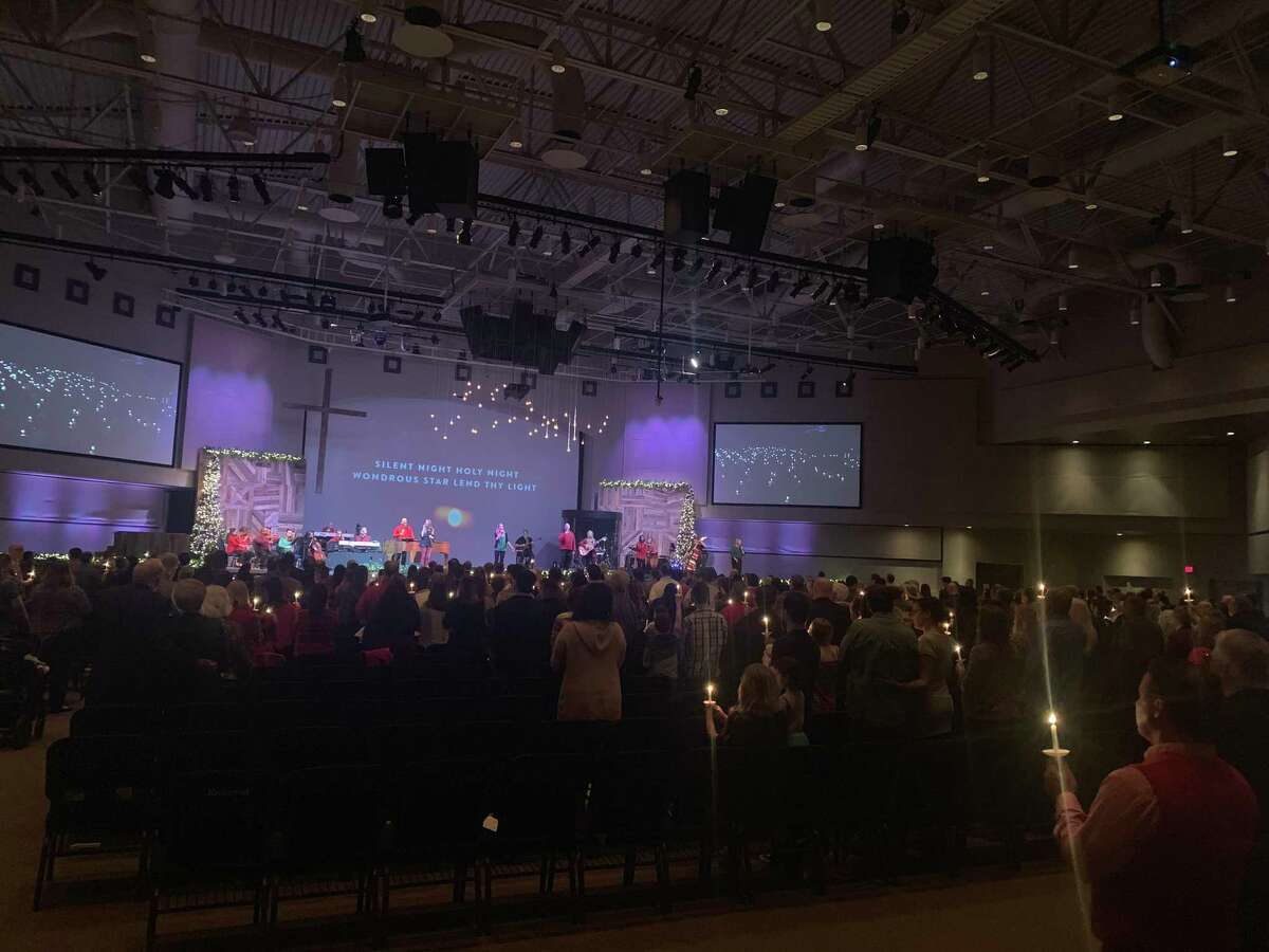 Christmas Eve services have been a tradition for many families over the years at Houston Northwest Church, as shown in 2019. However, amid COVID-19 senior pastor Steve Bezner said the church will keep that alive this year with candlelight, carols and a celebration of the birth of Jesus.