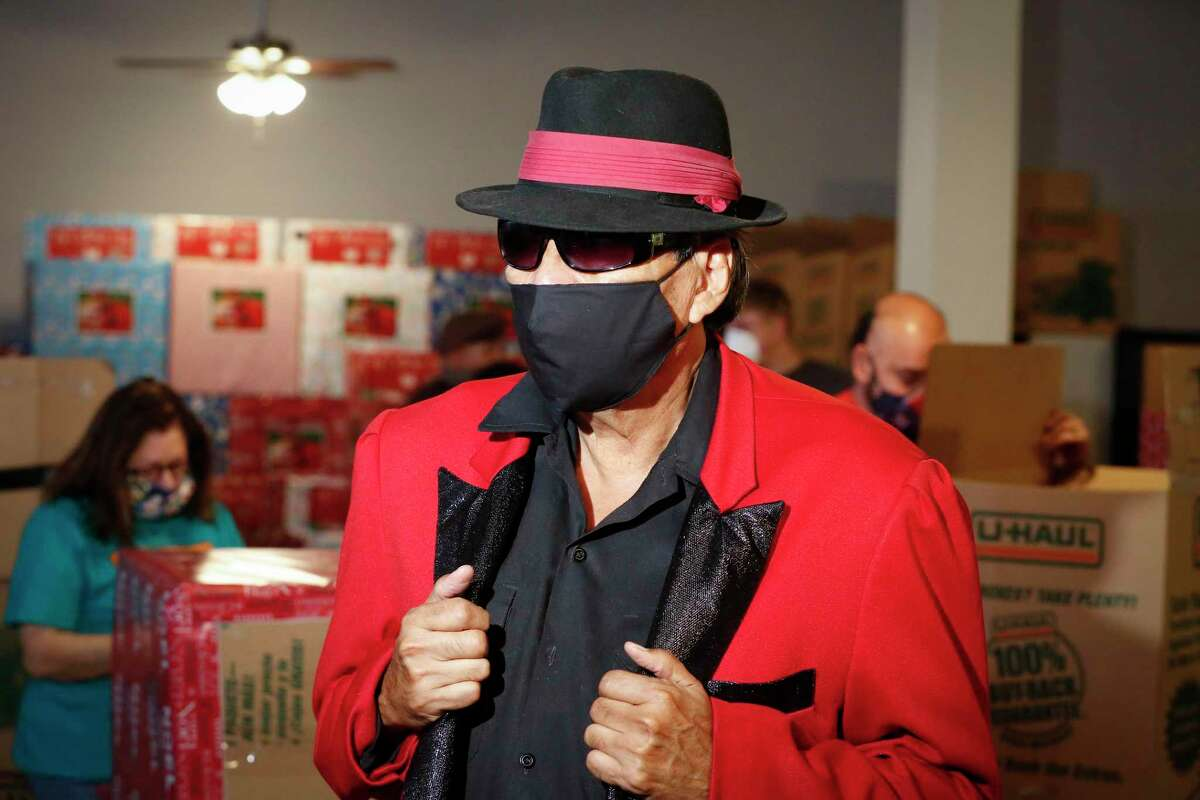 Pancho Claus aka Richard Reyes is asking for help to continue the holiday tradition of spreading joy to underprivileged children Saturday, Nov. 14, 2020, in Houston.