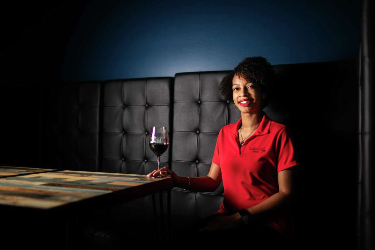 Candice Elliott recently opened with her husband Waters Edge Winery & Bistro of Richmond in November. The establishment will provide house-made wine from sourced grapes. Thursday, Dec. 3, 2020, in Richmond.