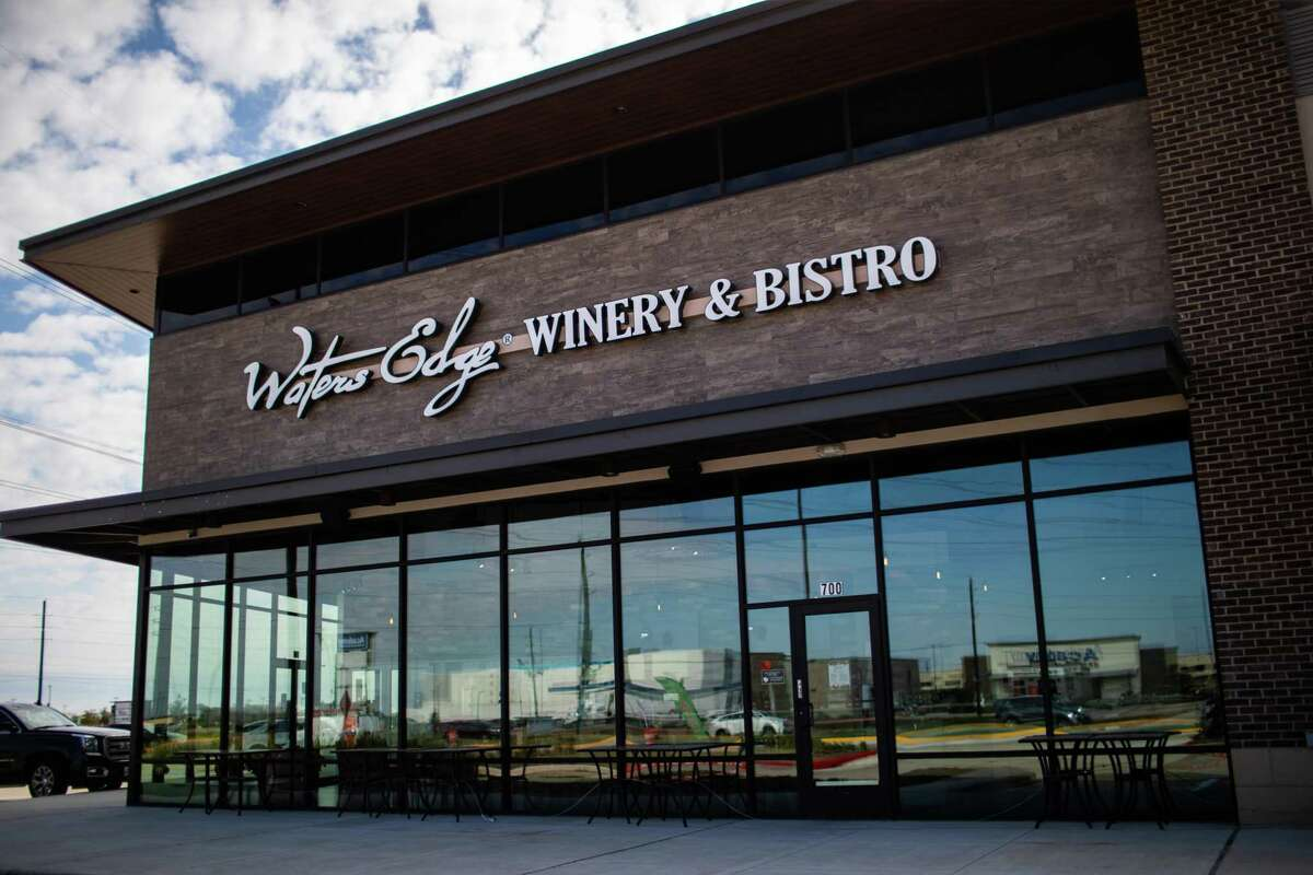 Waters Edge Winery & Bistro of Richmond opened to the public in November. The establishment will provide house-made wine from sourced grapes. Thursday, Dec. 3, 2020, in Richmond.