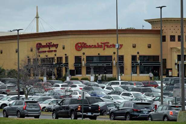 The Danbury Fair mall with full parking lots on Black Friday, Nov. 27, 2020, in Danbury.