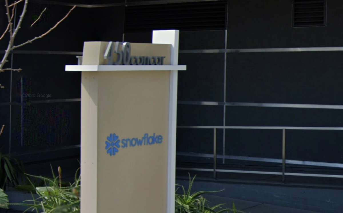 Snowflake headquarters in San Mateo, California.