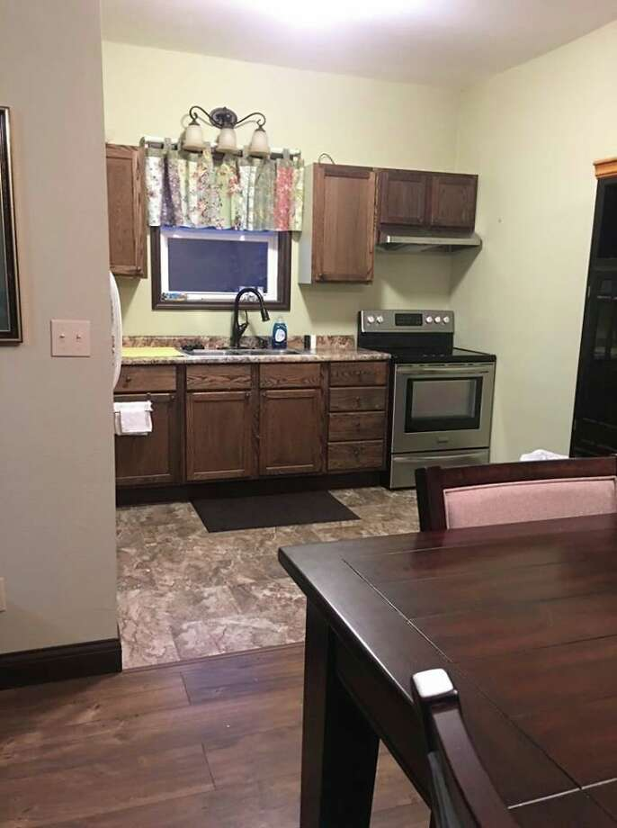 The Downtown Loft at 14 North Center St., Sebewaing, is a two-bedroom vacation rental unit that can sleep seven, and it comes with several amenities. (Courtesy Photo)