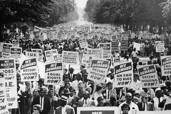 """Major civil rights moments in every state A land of contradictions from the outset, the United States was founded by slave owners who spoke passionately and eloquently about liberty, freedom, and justice for all. In the beginning, """"all"""" was limited to men of European ancestry who were wealthy enough to own land. The Constitution's protections did not apply to most of the people living in America for most of America's history-at least not in full. Women-about 50% of the population-were not included in the country's concept of """"all,"""" likewise millions of slaves-and for a long time, their offspring. The descendants of the original inhabitants of the United States were commonly excluded from the promise of America, as were many immigrants, ethnic groups, and religious minorities. Despite all the work that remains to be done, all of those groups and many others now enjoy freedoms that had to be won-won through the courts, through the court of public opinion, through mass demonstrations, through legislation, through boycotts, and in many cases, through martyrdom. Fighting to expand the definition of """"all"""" requires powerless people to challenge the power structures that benefit from their status as second-class citizens. They often do it at great risk to their jobs, their reputations, their homes, and in many cases, their lives. Even so, brave advocates and activists fought the good fight in every state in America. Each state has a unique story to tell about the epic struggles for civil rights that were waged there, as well as those that continue to be waged. The following is a tiny sliver of their collective efforts. Using a variety of sources, Stacker identified a defining moment for civil rights in all 50 states. They stand out for different reasons and led to changes that lifted different groups, but they all prove how much can be achieved-and how much still remains to be accomplished. Click through to find out your state's contribution to civil rights. You may also li"""