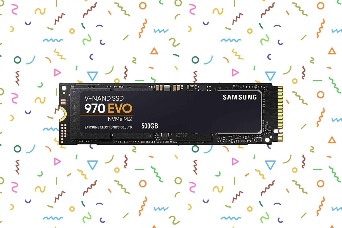 500GB Samsung 970 EVO M.2 NVMe Interface Internal Solid State Drive for $59.99 on Amazon