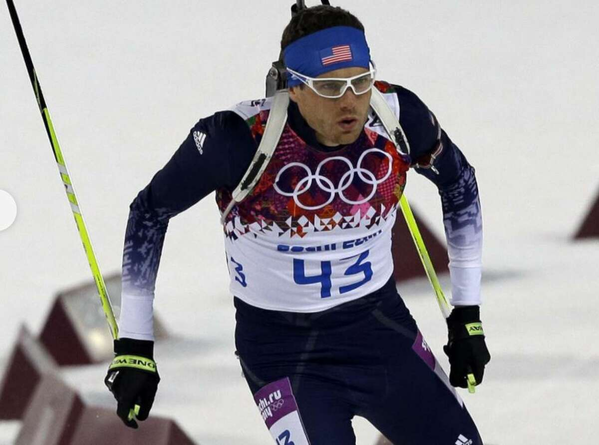 Adirondacker  and biathlete Tim Burke competed in the 2018 Olympic games in South Korea.