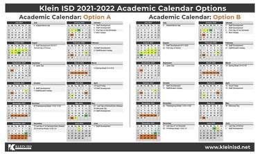 Elon Academic Calendar 2021-2022 Spring, Klein school notebook: Klein ISD asks for feedback on 2021