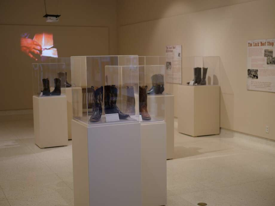 The Boot Makers: Innovation and Artistry exhibition will be open at the Museum of Texas Tech through January. Photo: Provided By The Museum Of Texas Tech