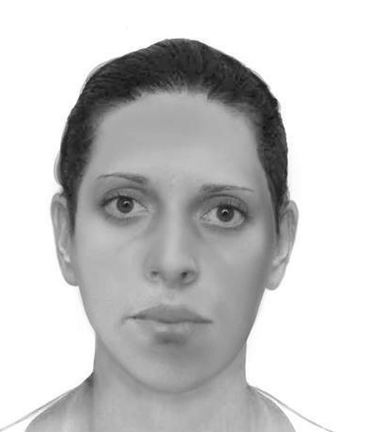 The above image is an updated facial reconstruction based on the woman's skeletal remains. The image is an approximate likeness based on data obtained from a more recent anthropological analysis. Hairstyle, hair color and eye color are all open to interpretation and may be different.
