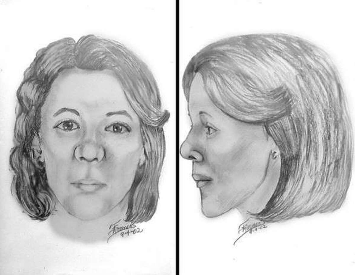 The sketch is the original facial reconstruction