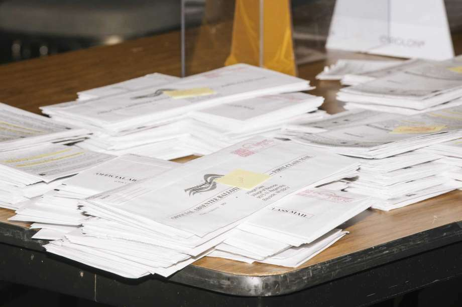 During the 2020 presidential election, a number ballots were rejected throughout Mecosta County. Ballots were rejected for a variety of reasons, including death, signature issues, failing to turn a ballot in on time and more. Photo: Associated Press, File
