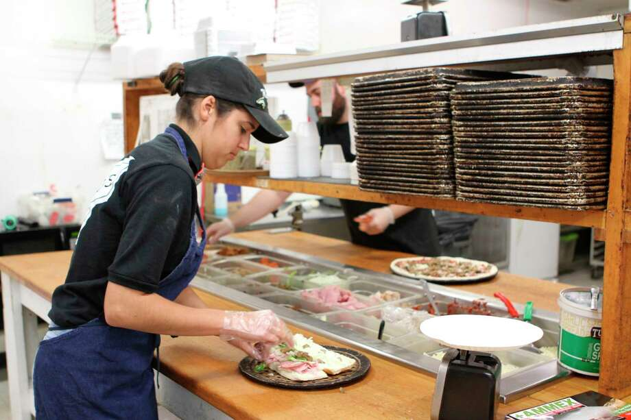 Mancino's Pizza and Grinders is one of several family owned and operated restaurants in Michigan. The Big Rapids business was opened in the early 90s and has been drawing new customers in ever since. (Pioneer photo/Taylor Fussman)