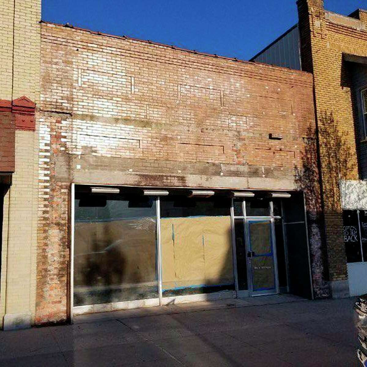 This image shows what the Lake Life Farms' storefront looked like prior to owners renovating it for their new medical marijuana business. Lake Life Farms is now open and located at 208 S. Michigan Avenue in downtown Big Rapids. (Photo courtesy of Lake Life Farms)