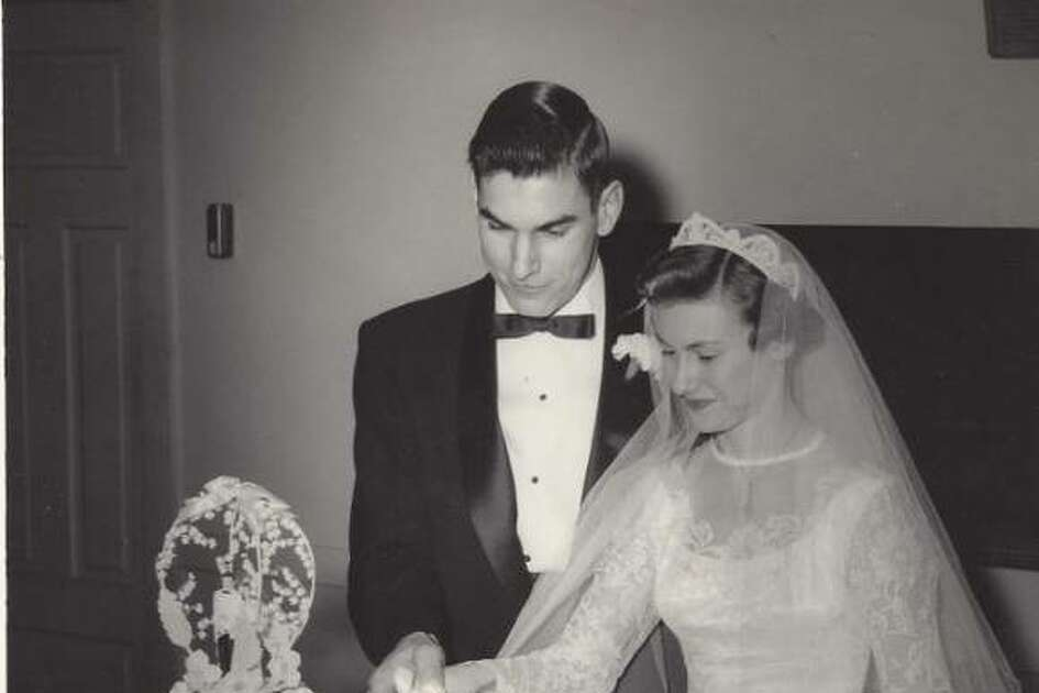Don and Elaine Butler at their wedding