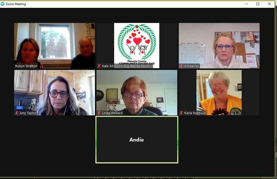 During the primarily remote Community Giving Day, event organizers communicated with nonprofits over Zoom to give viewers the chance to get to know the organizations in their area. (Courtesy photo)