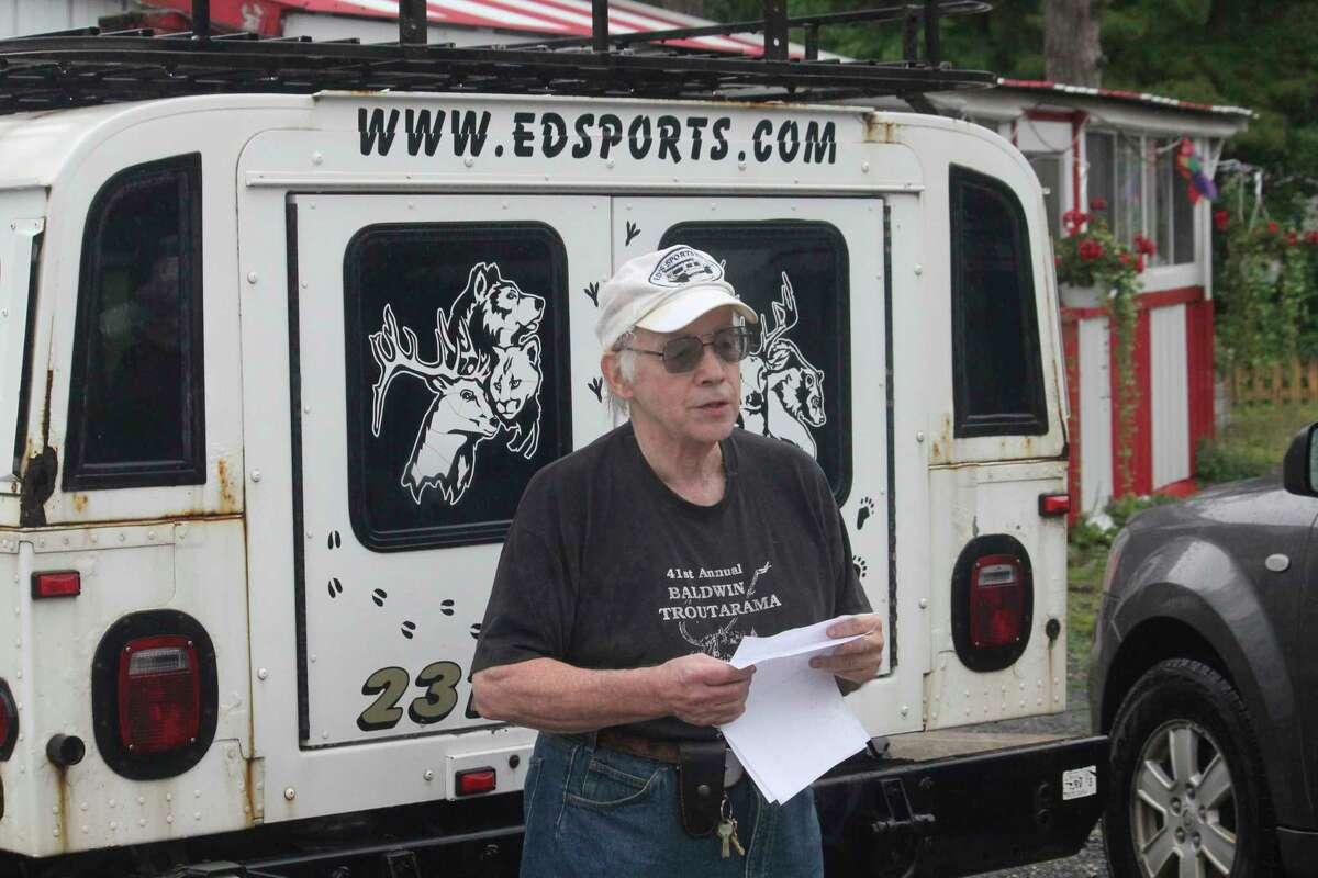 Doug Loomis, of Ed's Sport Shop, in Baldwin is hoping fishing activity picks up this week. (Pioneer file photo)