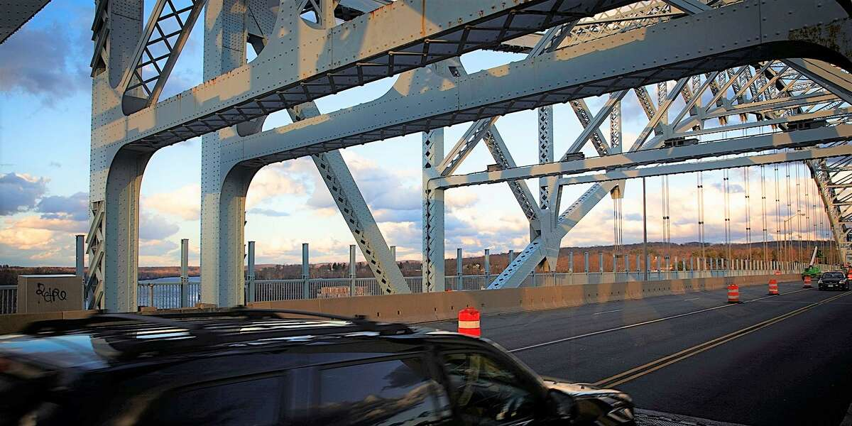 Traffic whizzes over the Arrigoni Bridge from Middletown to Portland. Phase 2 of the project is expected to begin Dec. 14, according to state Department of Transportation engineers.