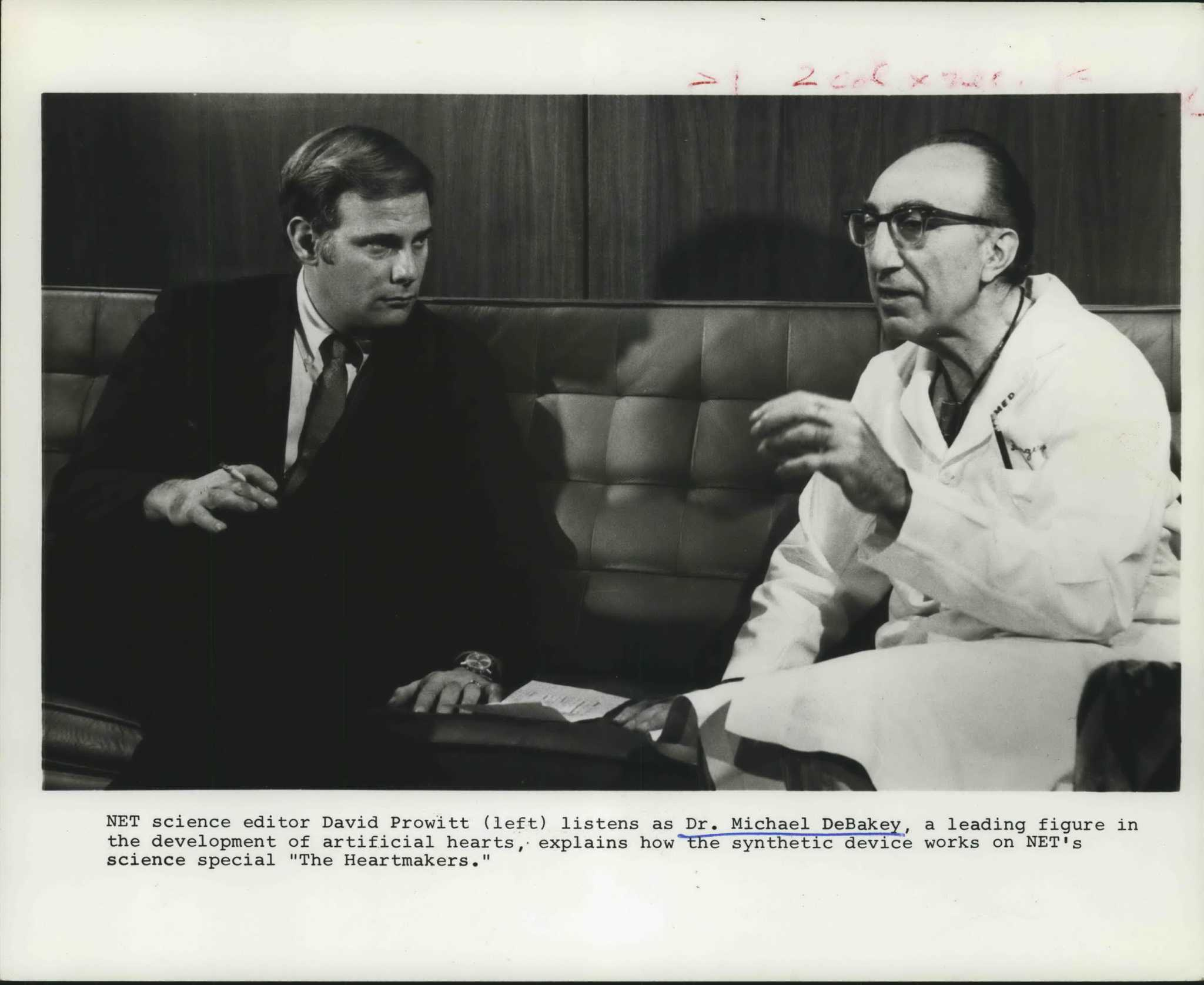 Houston healthcare in 1945 was 'mediocre.' The rivalry between DeBakey and Cooley changed it forever