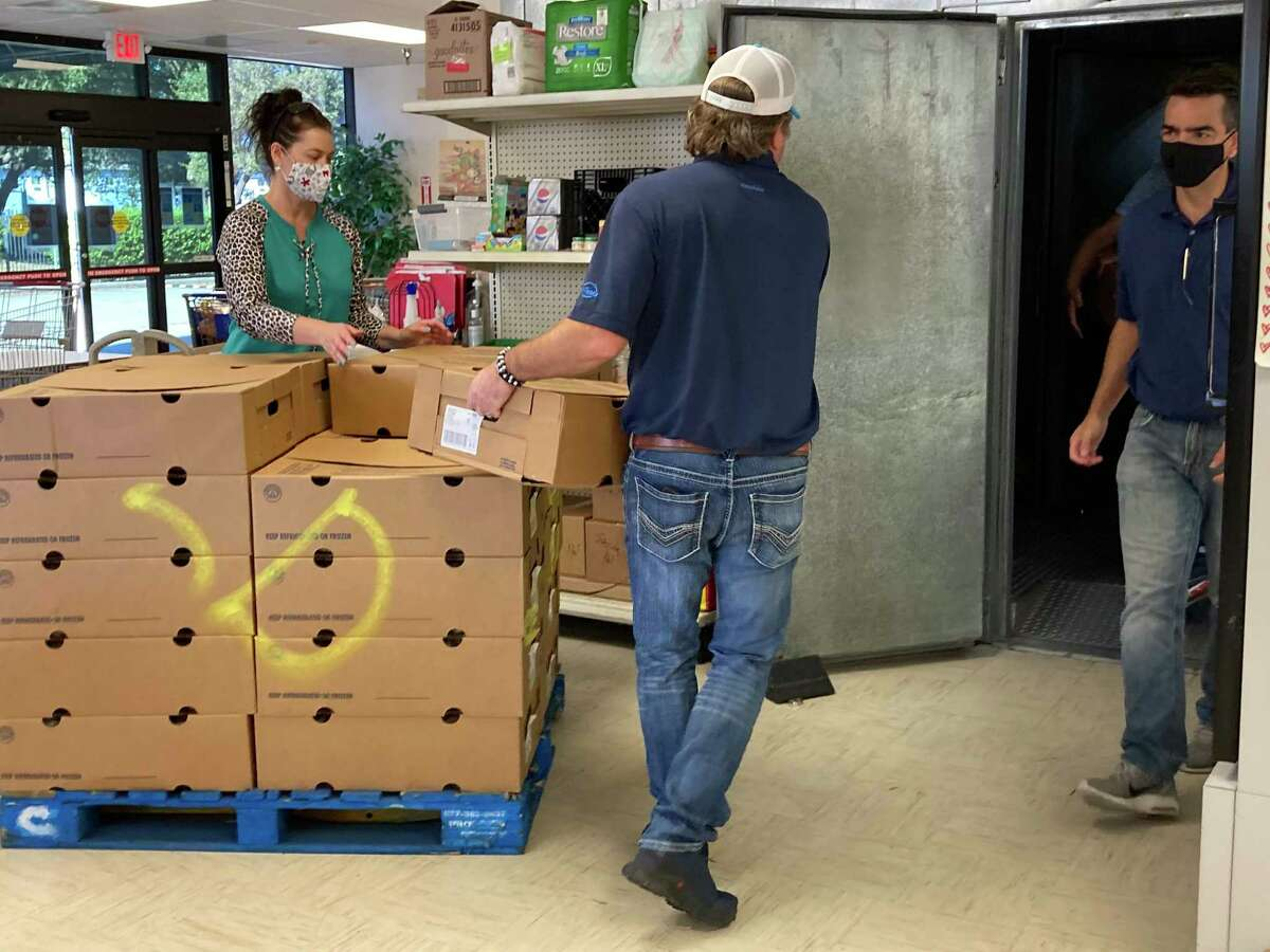 Donations from the community help Northwest Assistance Ministries keep up with the demand caused by COVID-19.