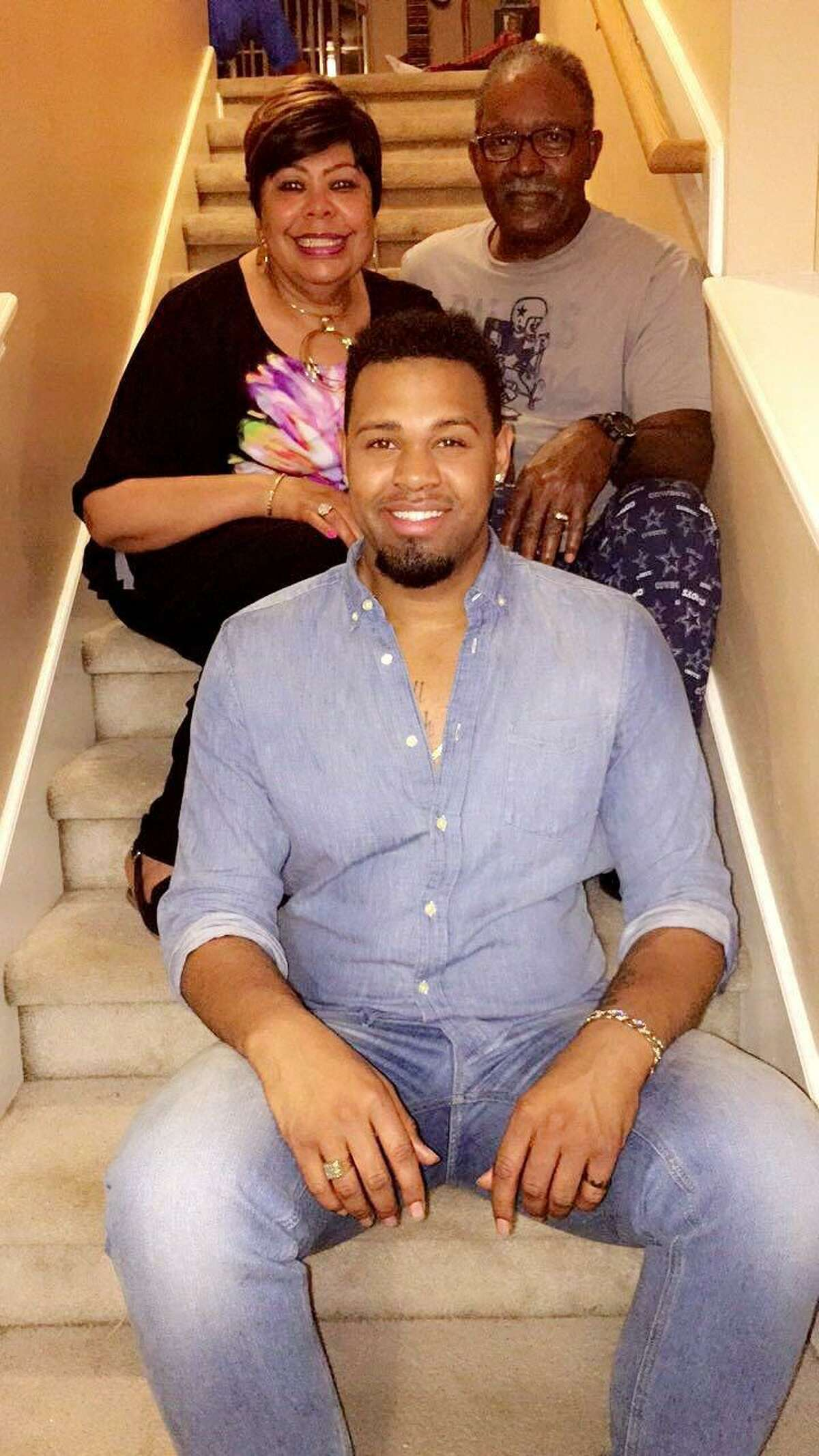 """Ozen graduate Deondre Moore, 22, and his family were featured in a """"We are Family"""" docu-series presented by Greater than AIDS and the Elton John AIDS Foundation. The campaign aims to promote family support for people with HIV."""