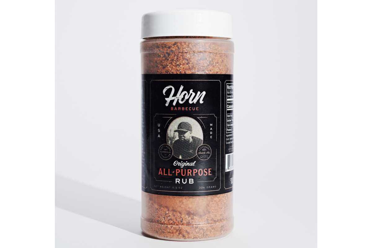 Horn Barbecue If you haven't had the chance to try Horn Barbecue yet, the next best thing might be getting your hands on barbecue pitmaster Matt Horn's all-purpose rub. The blend combines paprika, garlic, onion, and other spices that can be added to meats or vegetables. Horn Barbecue | 2534 Mandela Pkwy, Oakland | Order online