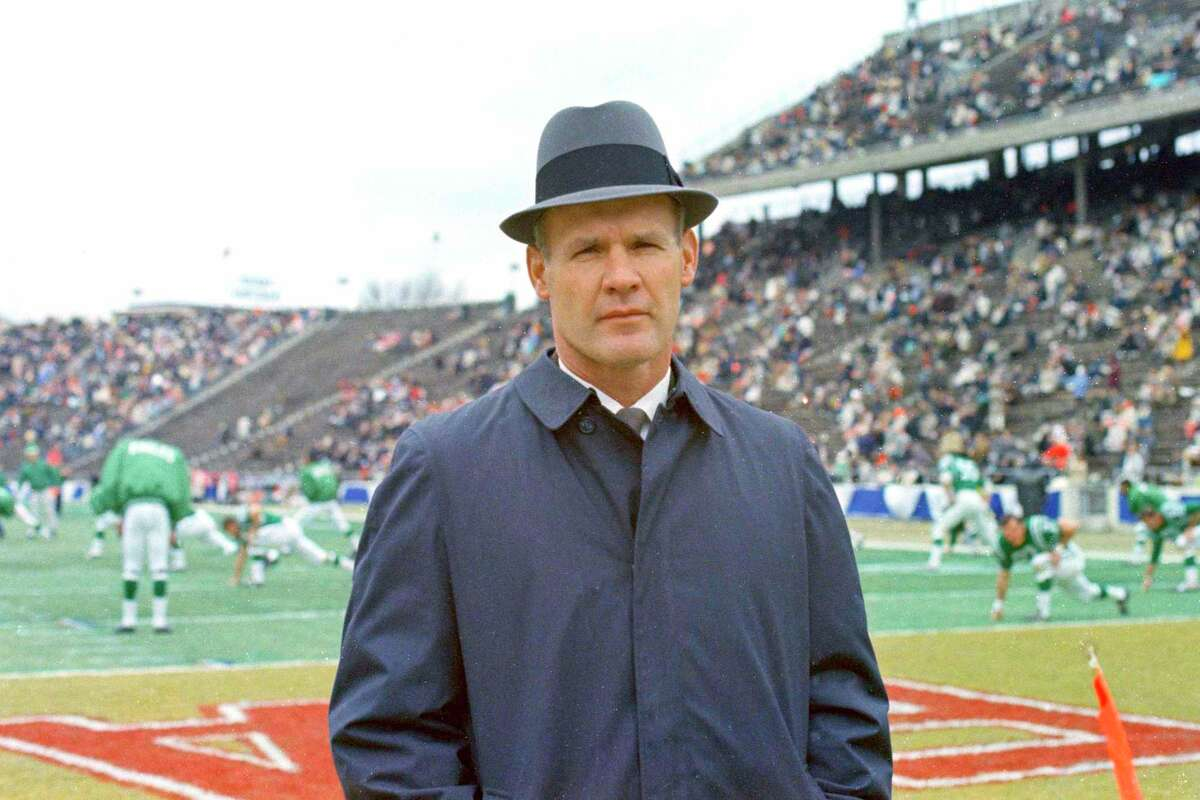 """Dallas Cowboys football coach Tom Landry built that franchise from the ground up to challenge the Packers for NFL dominance at the end of the 1960s and later become known as """"America's Team."""""""