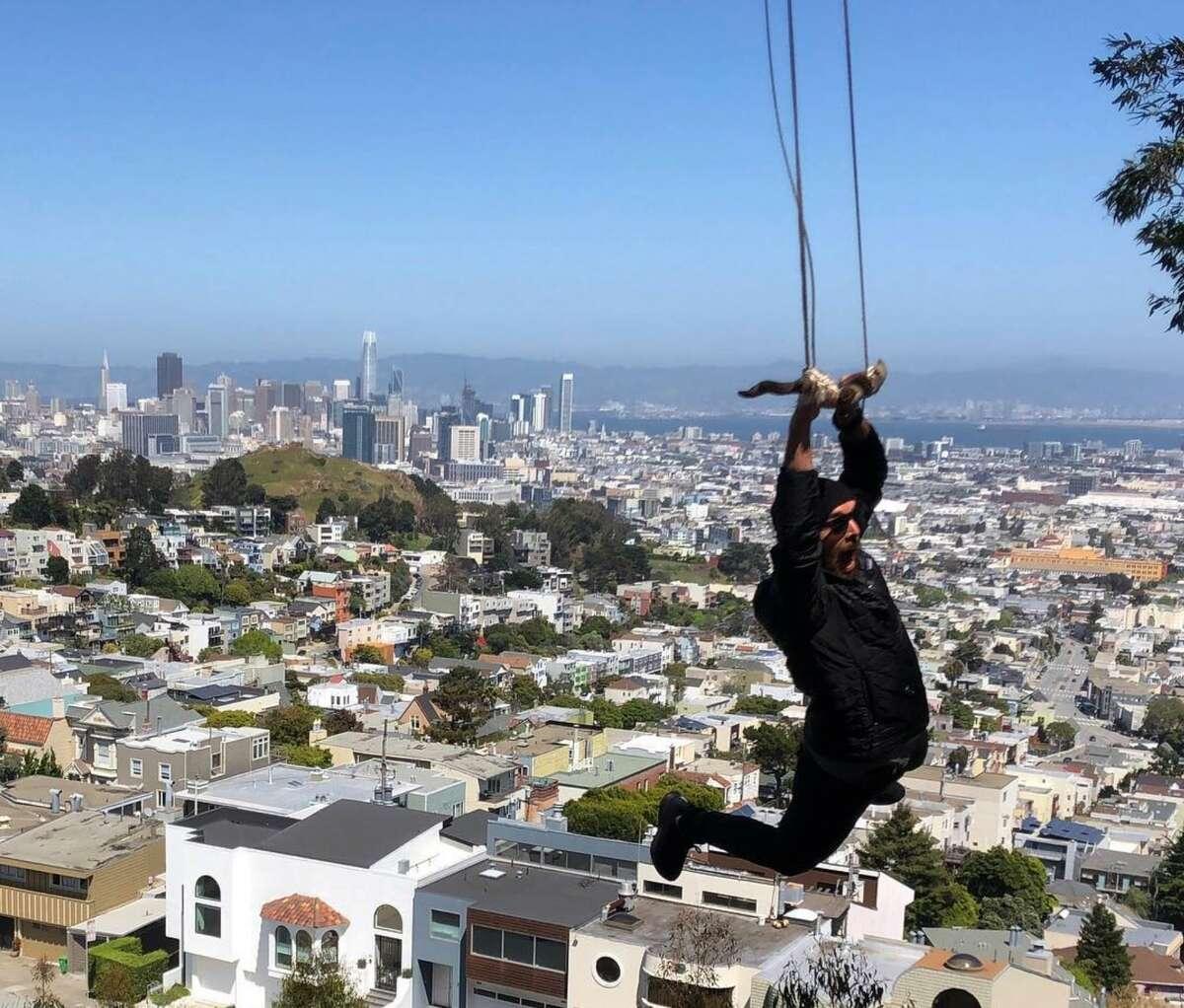 Tank Hill, San Francisco.
