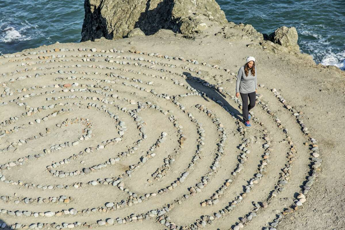 Land's End Eagle Point Labyrinth in San Francisco.
